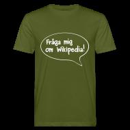 T-shirts ~ Ekologisk T-shirt herr ~ Fråga mig 2-sidig