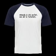 T-shirts ~ Kortärmad basebolltröja herr ~ Fantastiskt - v4 - herr