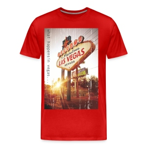 What happens in Vegas... - Men's Premium T-Shirt