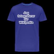 T-shirts ~ Premium-T-shirt herr ~ Jag fotograferar - herr