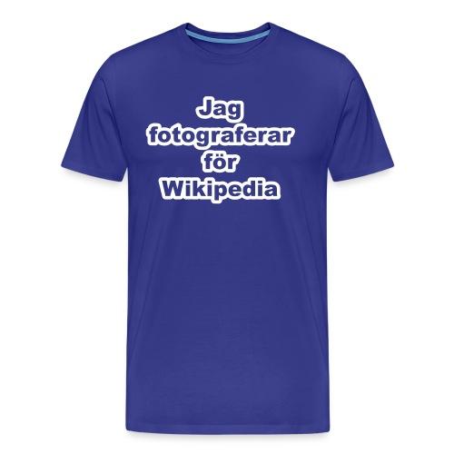 Jag fotograferar - herr - Premium-T-shirt herr