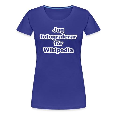 Jag fotograferar - dam - Premium-T-shirt dam