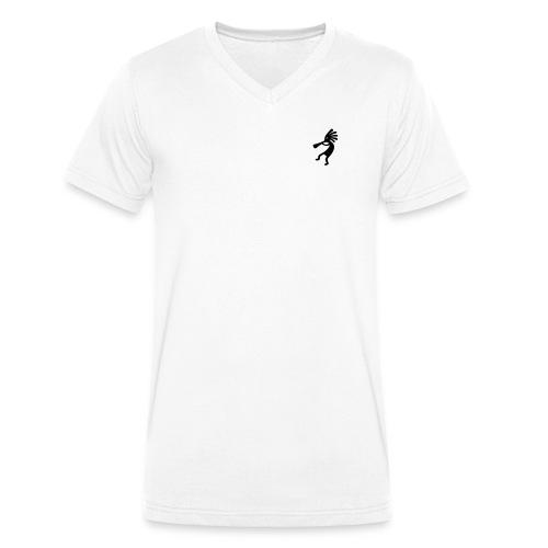 0001 - T-shirt ecologica da uomo con scollo a V di Stanley & Stella