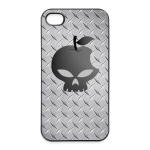 Coque smartphone skull - metal style - Coque rigide iPhone 4/4s