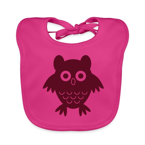 My friend the owl - Baby Organic Bib
