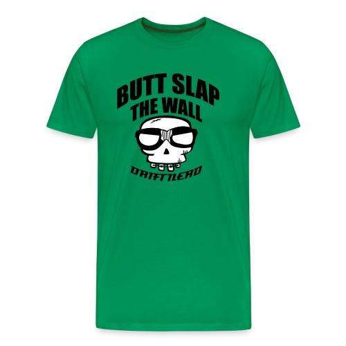 Butt slap (svart) - Premium T-skjorte for menn