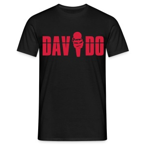 Davido Shirt (Logo Red) - Männer T-Shirt