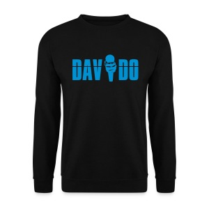 Davido Sweatshirt (Logo Light Blue) - Männer Pullover