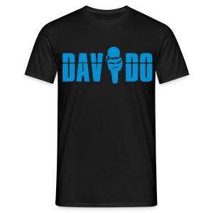 Davido Shirt (Logo Light Blue) - Männer T-Shirt