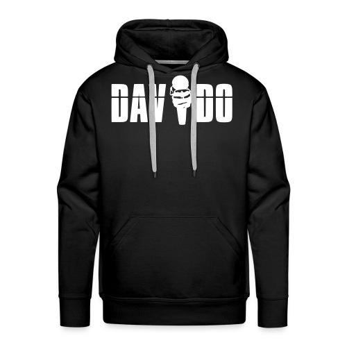 Davido Hoody (Logo White) - Männer Premium Hoodie