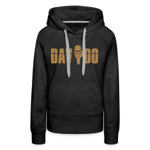 Davido Girly Hoody (Logo Light Brown) - Frauen Premium Hoodie