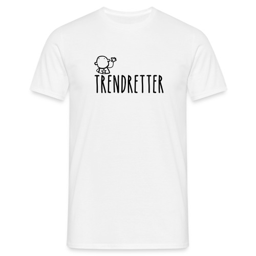 T-Shirt 'Trendretter' - Männer T-Shirt