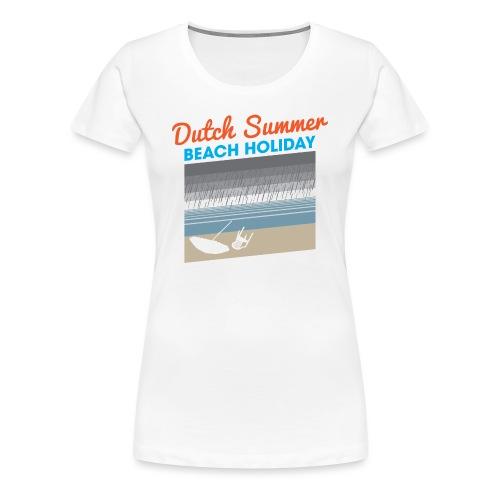 Dutch Summer vrouwen premium - Vrouwen Premium T-shirt