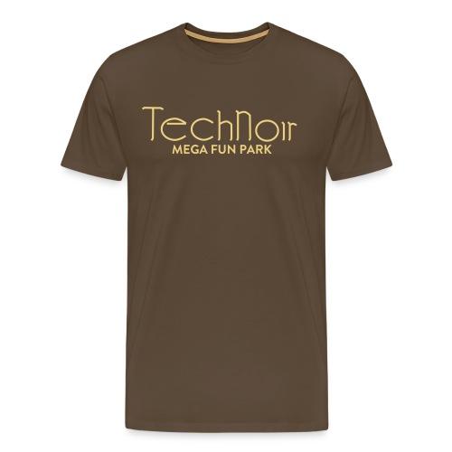 WRZ_55_TechNoir - Männer Premium T-Shirt
