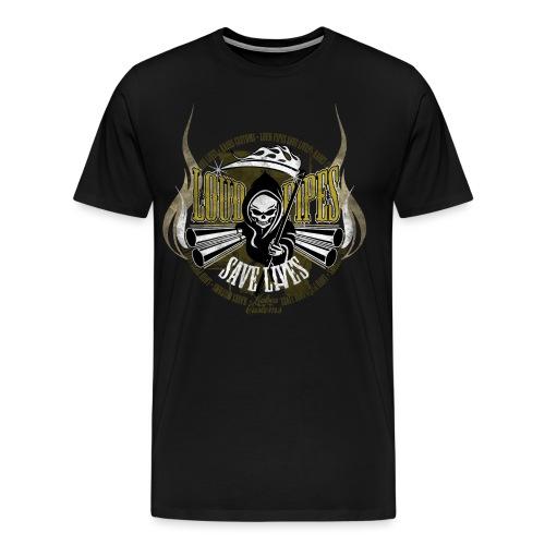 Kabes Loud Pipes T-Shirt - Men's Premium T-Shirt
