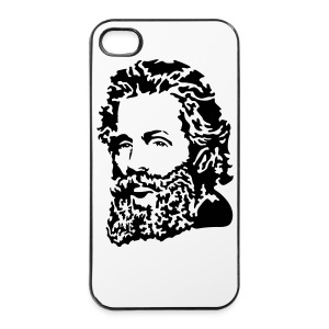 Herman Melville portrait - iPhone 4/4s Hard Case