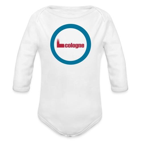 Köln Cologne Dom Baby Body - Baby Bio-Langarm-Body