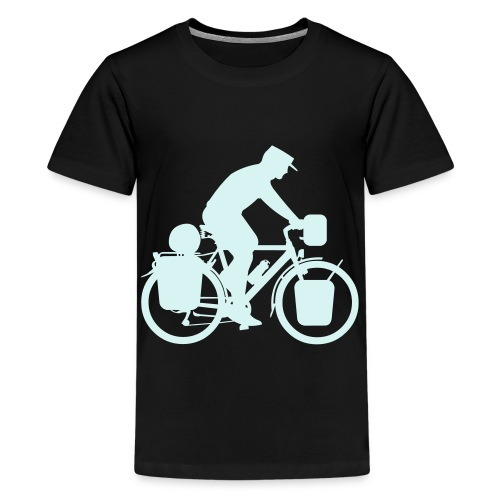 Radreisender ohne Globus - Teenager Premium T-Shirt