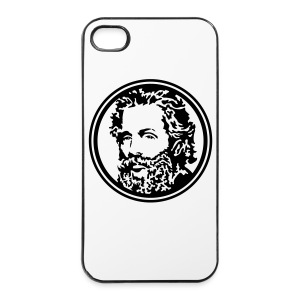 Herman Melville médaillon - iPhone 4/4s Hard Case