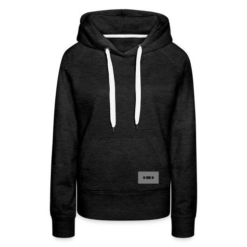 KASSETTE Motiv - Women's Hooded Sweatshirt - Women's Premium Hoodie