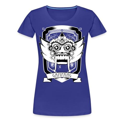 gampang mask woman - Vrouwen Premium T-shirt