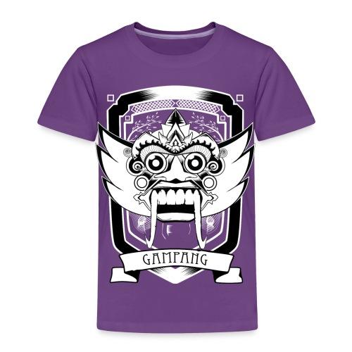 gampang mask kids - Kinderen Premium T-shirt