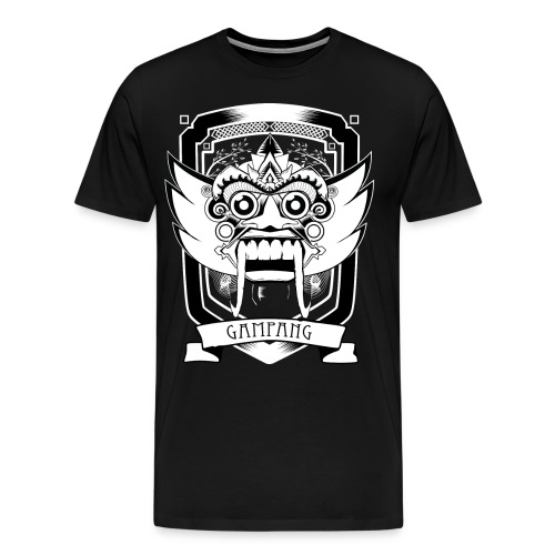 gampang mask men - Mannen Premium T-shirt