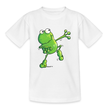 """Green Power"" - Frog - Cartoon  Shirts"