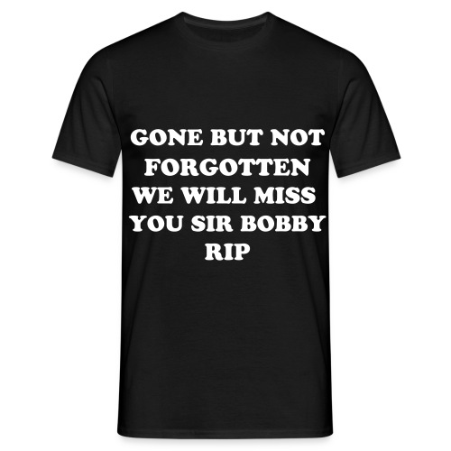 SIR BOBBY - Men's T-Shirt