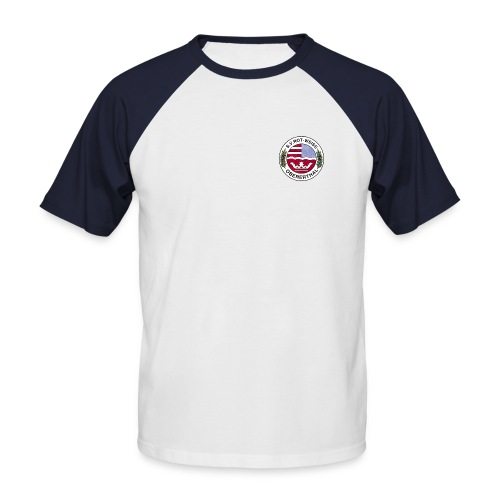 Trikot-Shirt (Farblogo) - Männer Baseball-T-Shirt
