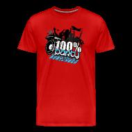 T-shirts ~ Premium-T-shirt herr ~ 100% PARTY (Nyhet)