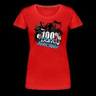 T-shirts ~ Premium-T-shirt dam ~ 100% PARTY (Nyhet)