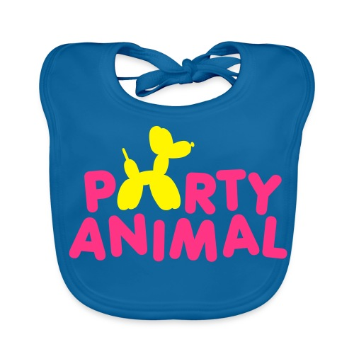 Party animal Baby Bib - Baby Organic Bib