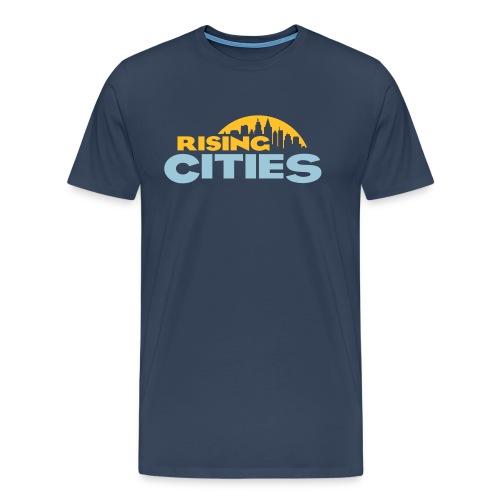 Rising Cities Logo Shirt - Männer Premium T-Shirt