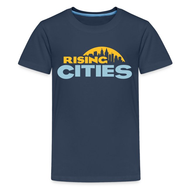 Rising Cities Logo for Teens