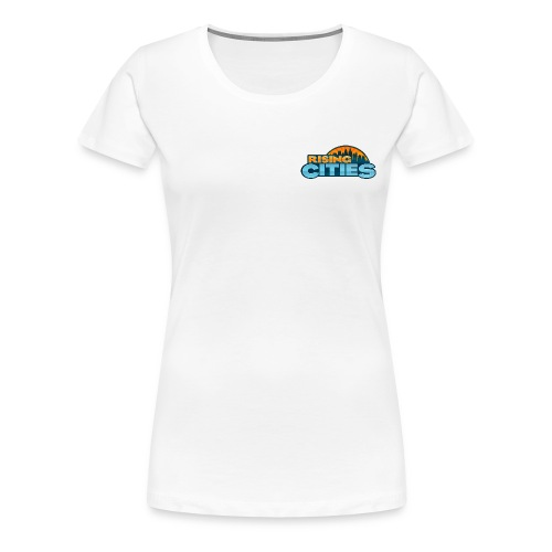 Rising Cities Logo - Frauen Premium T-Shirt