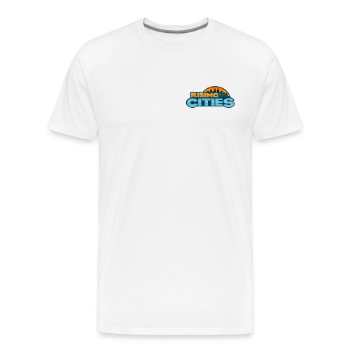 Rising Cities Logo - Männer Premium T-Shirt