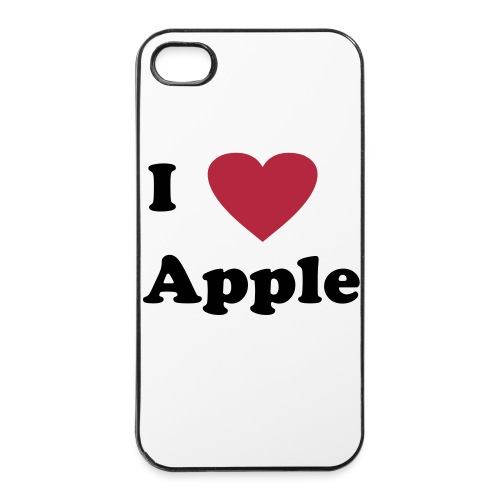 I 'Hart' Apple Handyhülle - iPhone 4/4s Hard Case