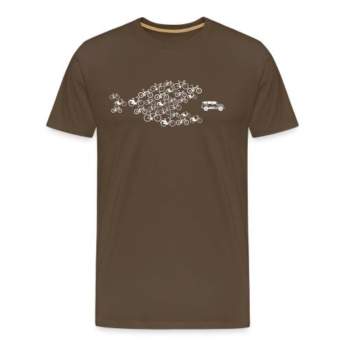Bike Swarm - Männer Premium T-Shirt