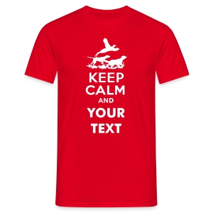 keep_calm_and_gun_dogs_text Magliette - Maglietta da uomo