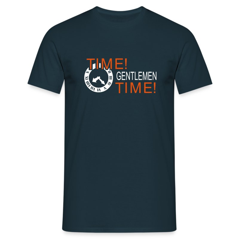Time Gentlemen - Men's T-Shirt