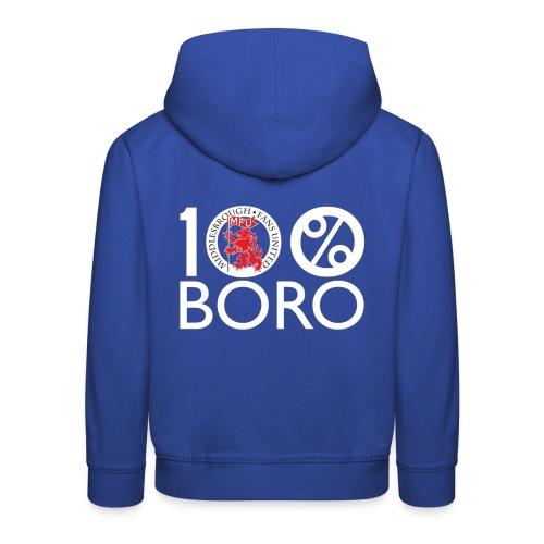 100% BORO - Kids' Premium Hoodie