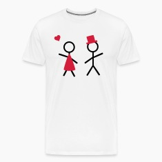 partner shirt him and her T-Shirts