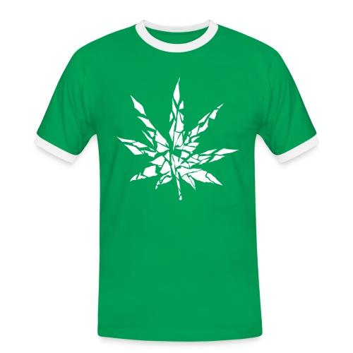 Marijuana style - Maglietta Contrast da uomo