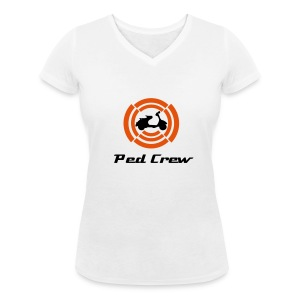 Ped Crew - Women's Organic V-Neck T-Shirt by Stanley & Stella