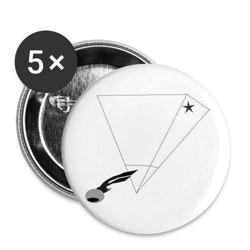 No-Seeing-Eye - Buttons mittel 32 mm