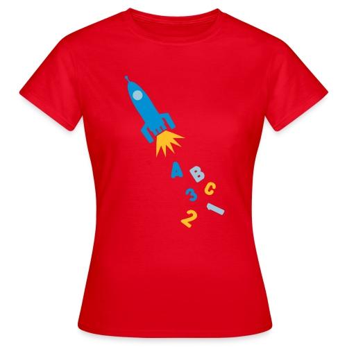 Leer als een raket - Vrouwen T-shirt