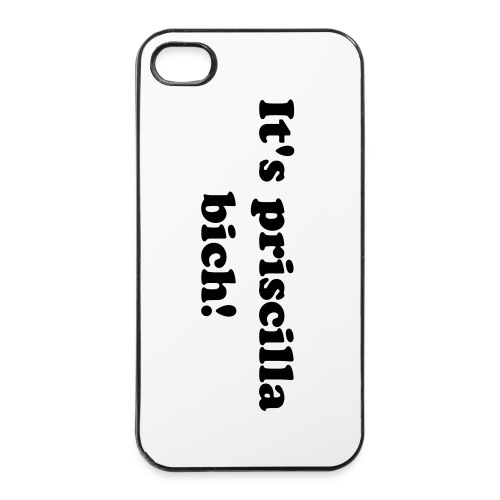 It's priscillia ! - iPhone 4/4s hard case