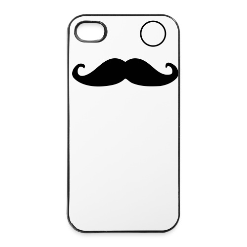 Mustache Man - iPhone 4/4s hard case