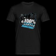T-shirts ~ T-shirt herr ~ 100% PARTY GLÖD (Nyhet)